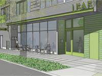 Exterior photo of Leaf Apartments