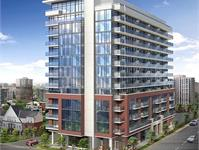 Exterior photo of Evolution Condos