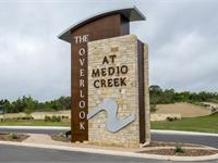Exterior photo of The Overlook at Medio Creek