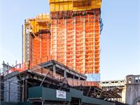 Construction photo of One Manhattan Square