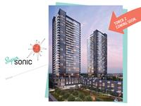 Exterior photo of SuperSonic Condos