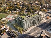 Exterior photo of Queensway Park Condos