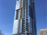 Construction photo of YUL Condominiums