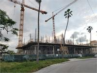 Construction photo of Quadro Miami