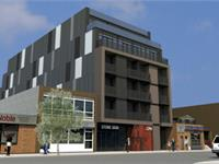 Exterior photo of Post Lofts Leslieville