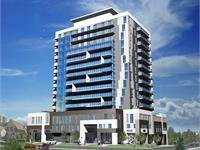 Exterior photo of ONE28 King Street Condos