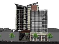 Exterior photo of SoNo on Peachtree