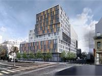 Exterior photo of 600 Van Ness Avenue