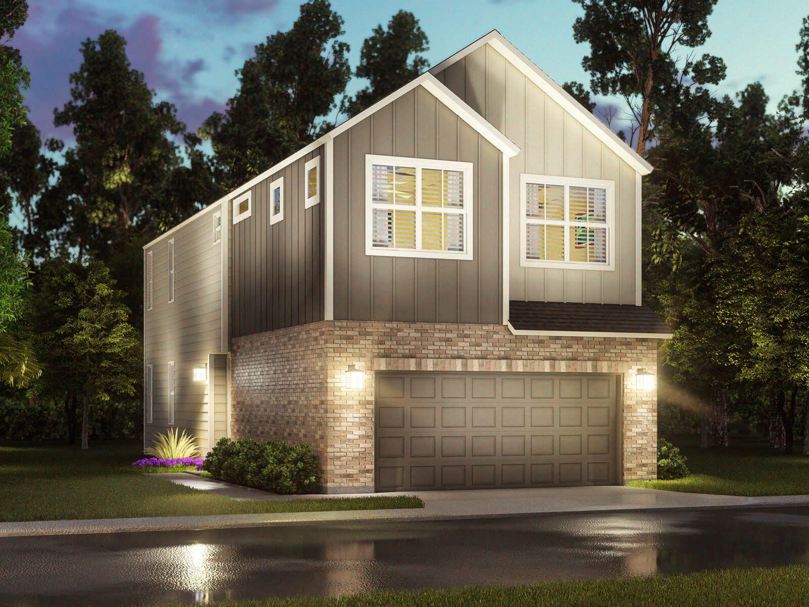 Exterior photo of Spring Brook Village - Townhome Collection