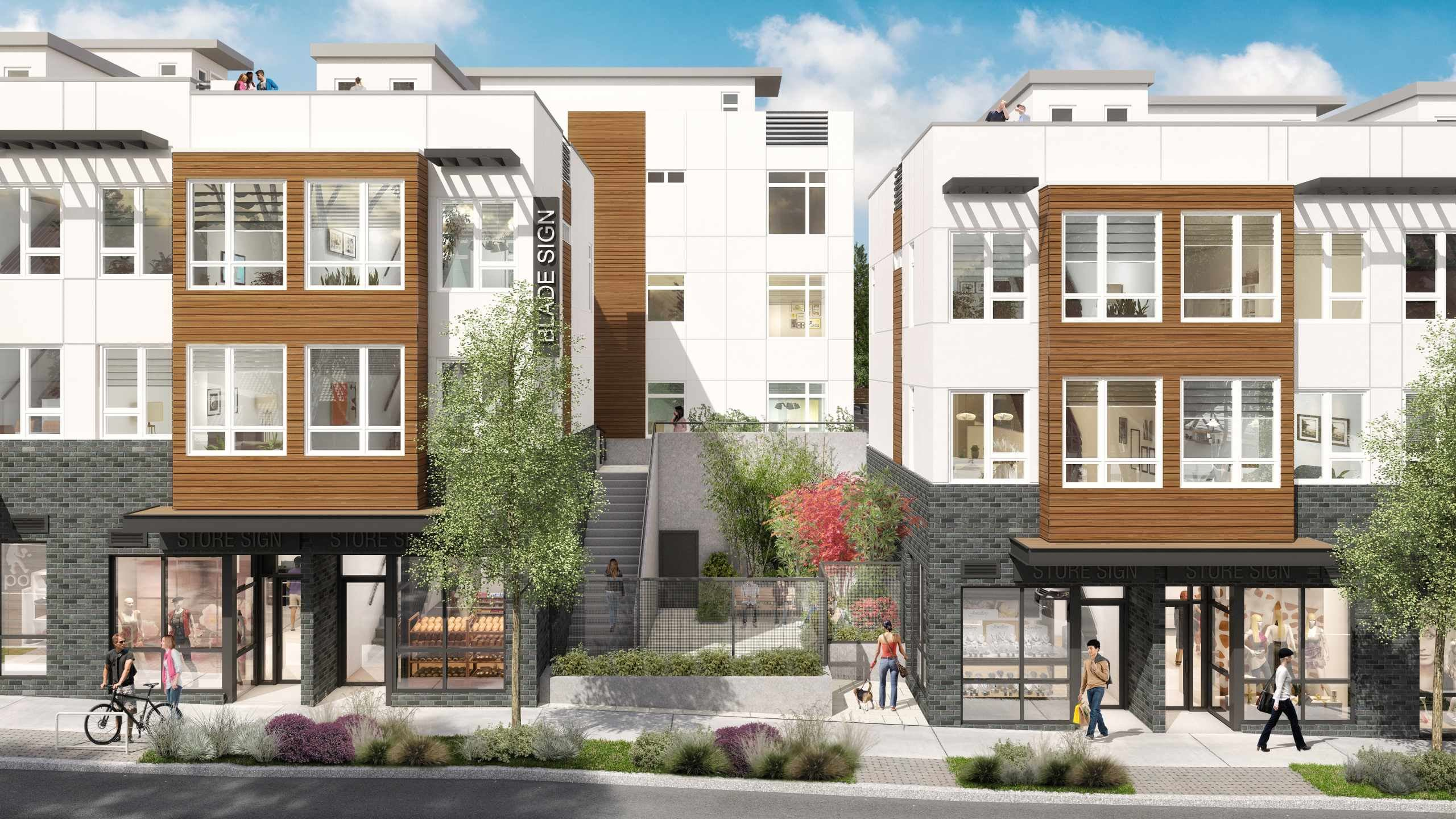Exterior photo of Talta Townhomes