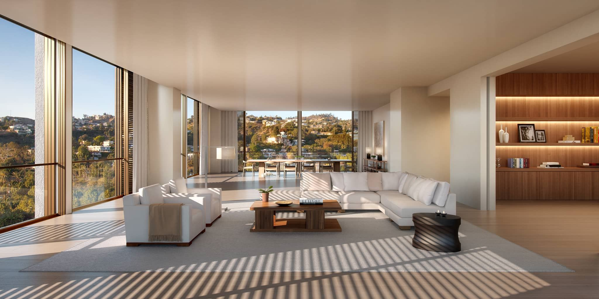 Interior photo of The Residences at the West Hollywood Edition