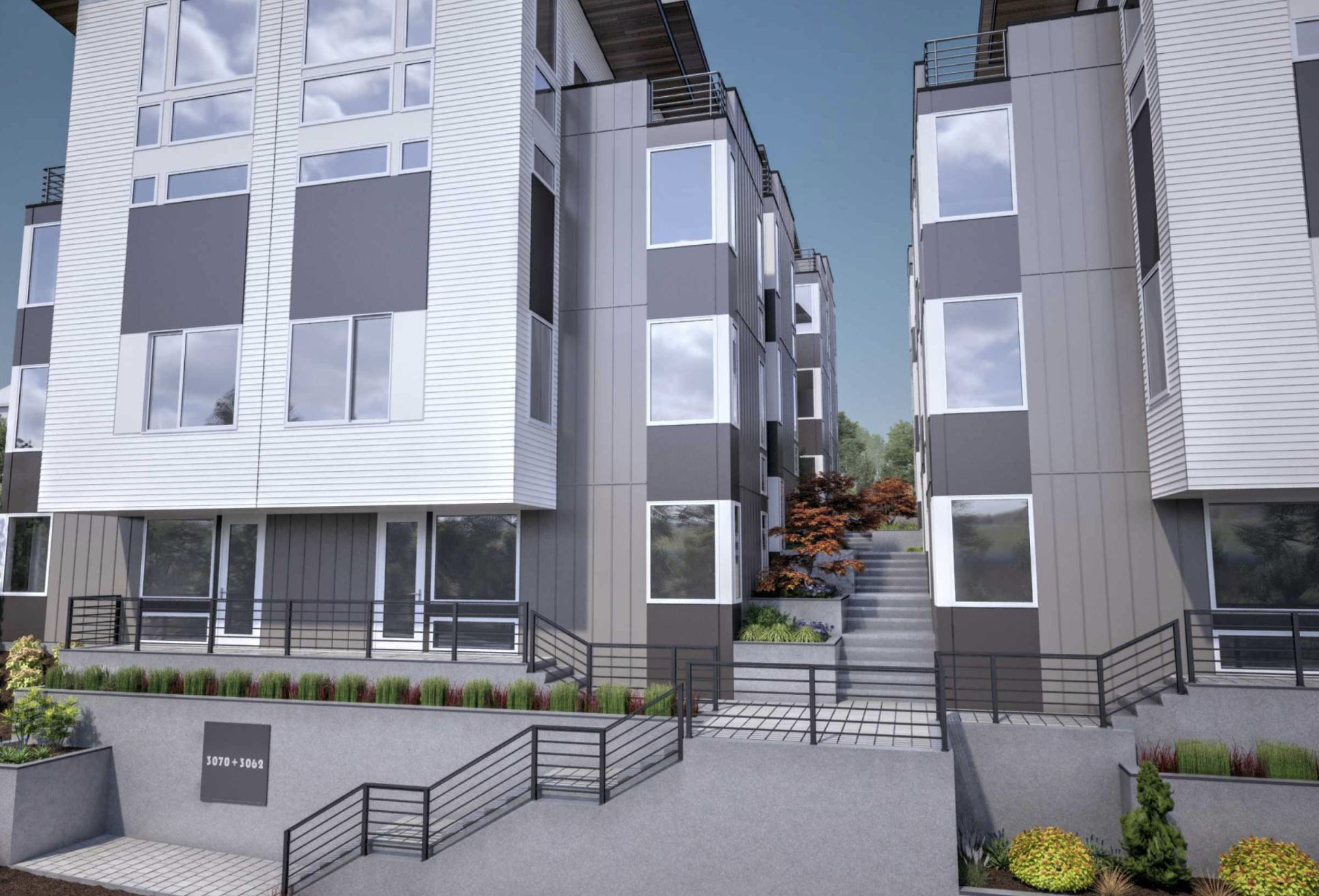 Exterior photo of Isla Townhomes