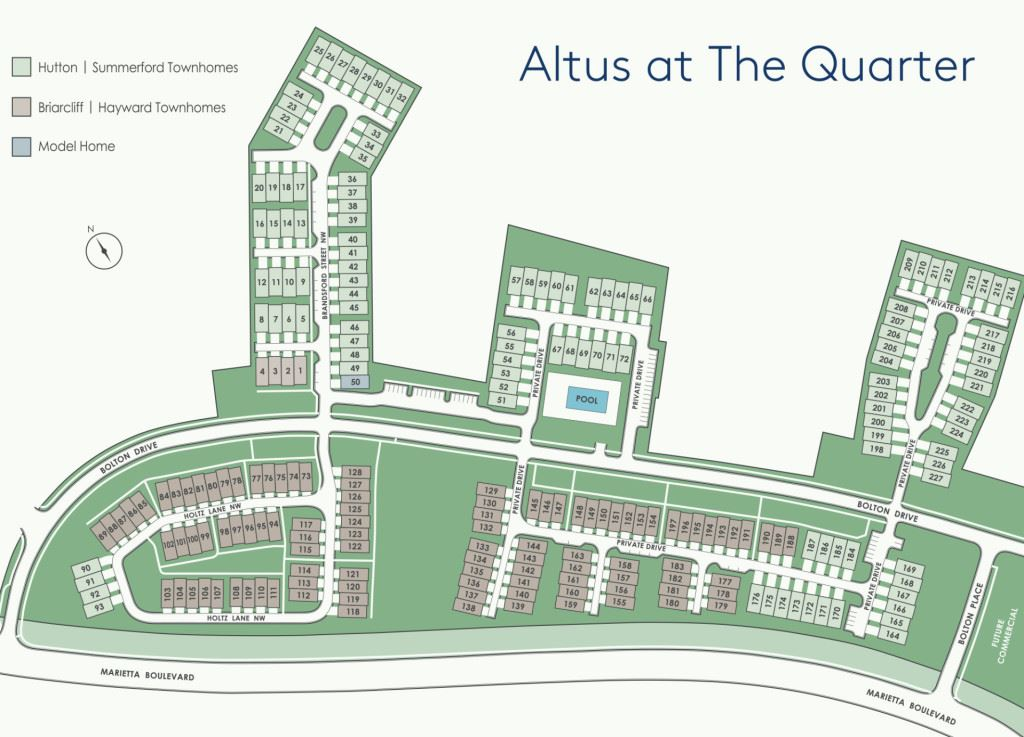 Construction photo of Altus at The Quarter
