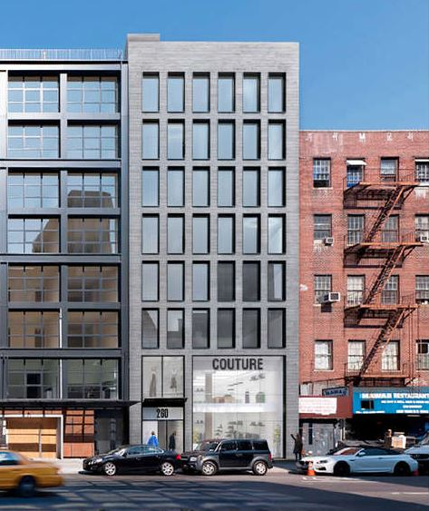 Exterior photo of 260 Bowery
