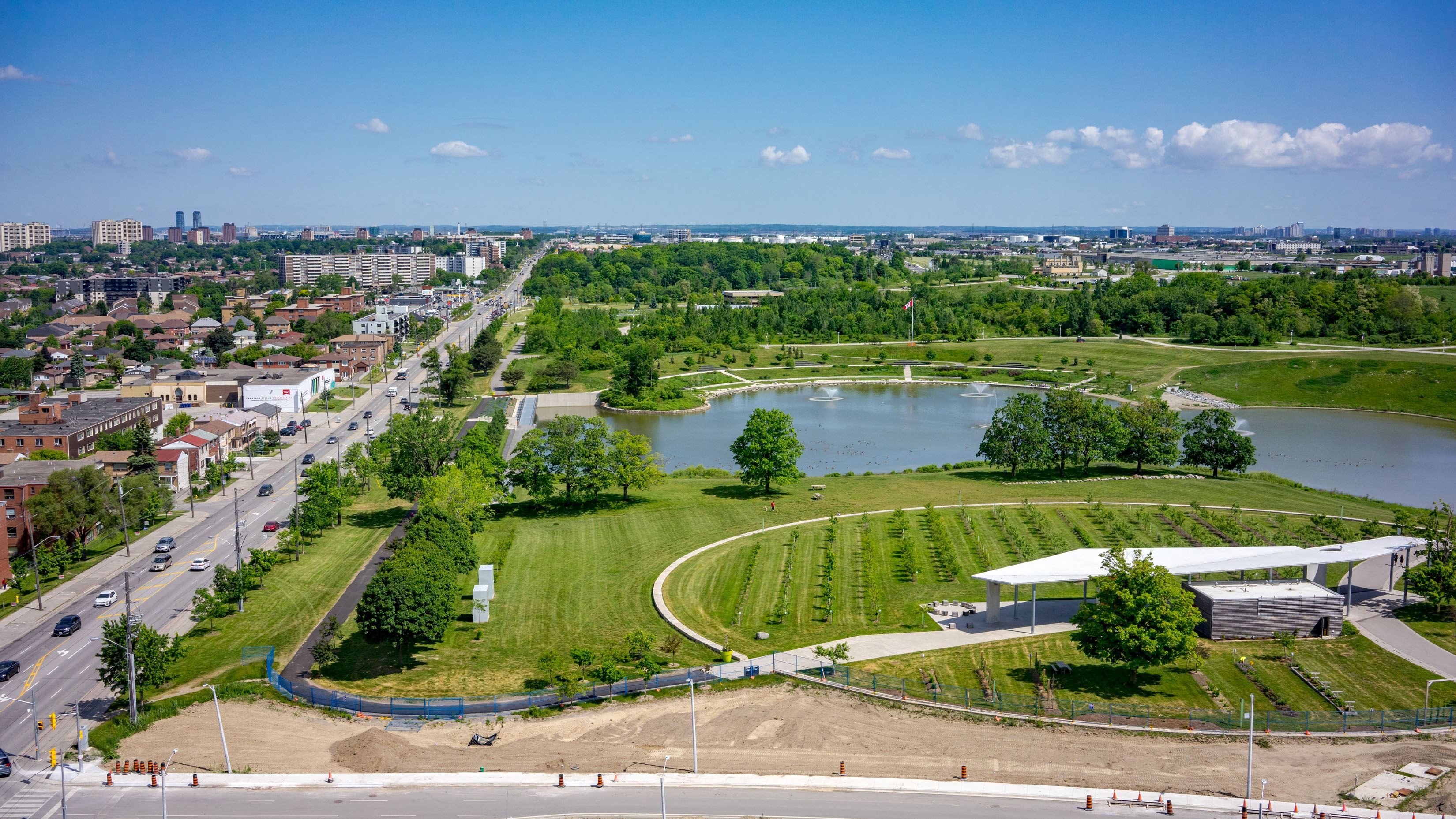 Exterior photo of Saturday in Downsview Park