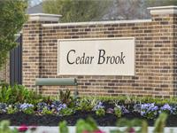 Exterior photo of Cedar Brook