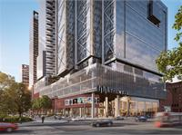Exterior photo of Tridel at The Well