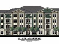 Exterior photo of Milwee Apartments