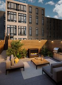 Exterior photo of The 574 Washington Avenue Condominium