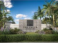 Exterior photo of The Falls at Parkland Villas 55+