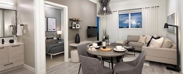 Interior photo of Latimer Village Condos