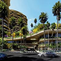 Exterior photo of One Beverly Hills