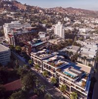 Exterior photo of Pendry Residences West Hollywood
