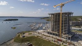 Construction photo of Seapoint at Harbour Isle