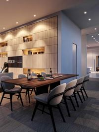 Interior photo of Perch Condos