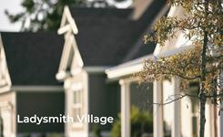 Exterior photo of Ladysmith Village