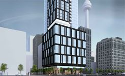 Exterior photo of 277 Wellington Street West Condos
