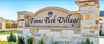 Exterior photo of Towne Park Village