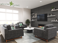 Interior photo of Willow Living