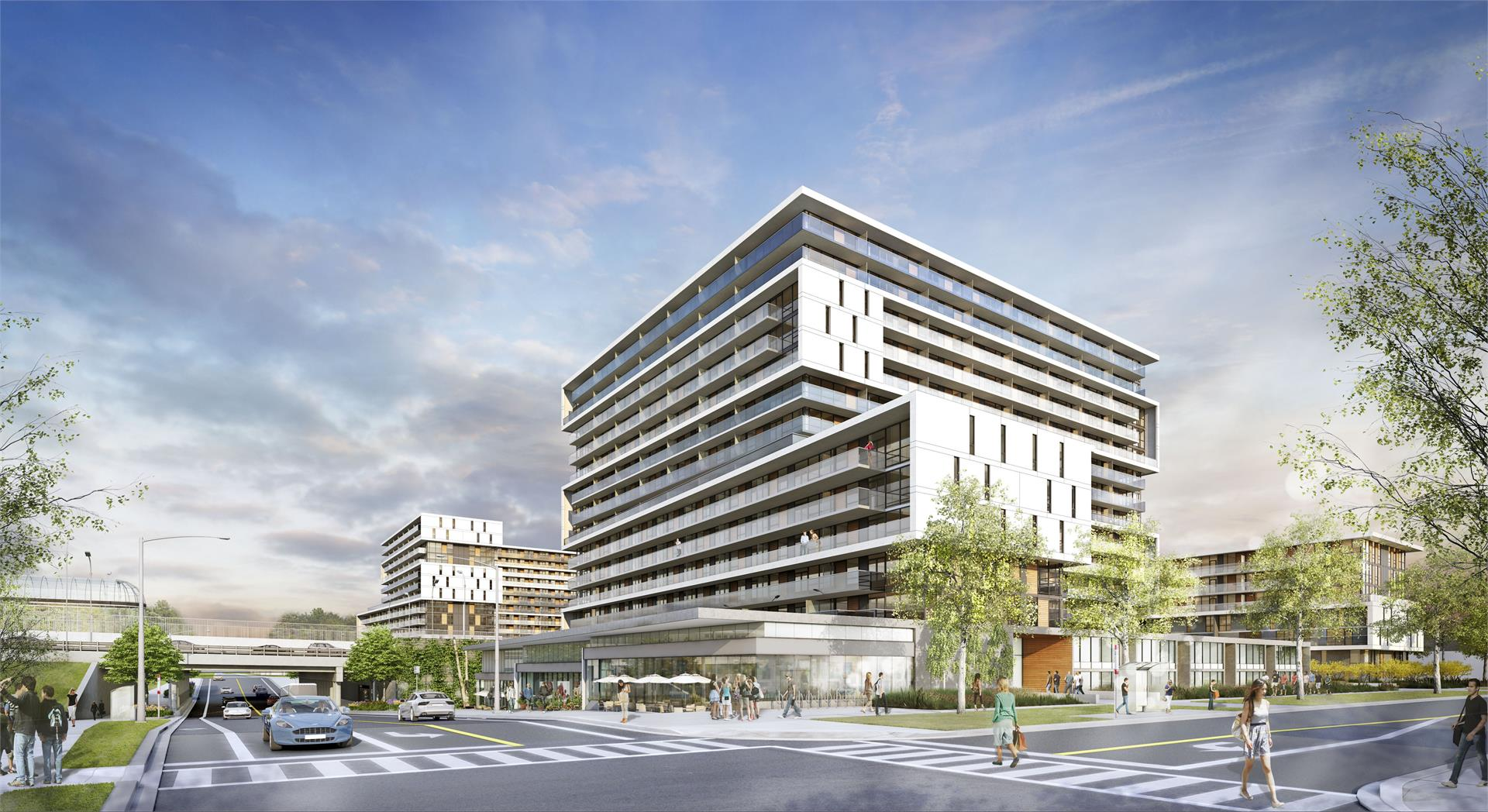 Exterior photo of The Yorkdale Condos