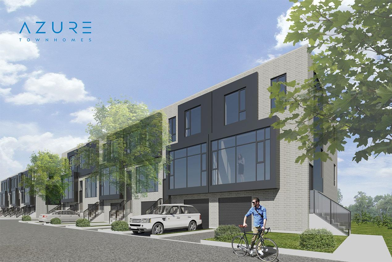 Azure Townhomes Plans Prices Availability