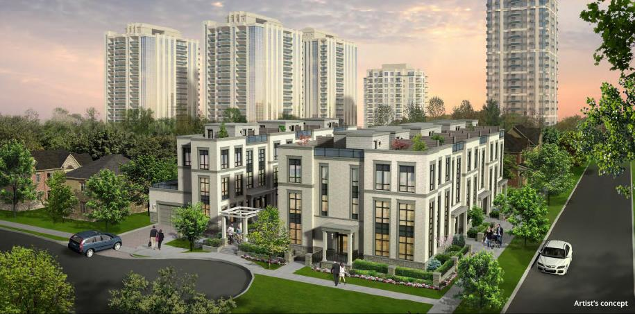 Kenneth Holmes Urban Townhomes Plans Prices Availability