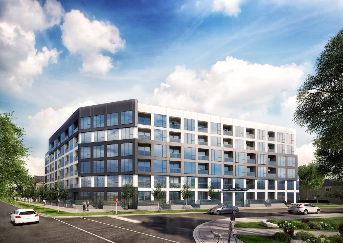 Exterior photo of Midtown Lofts