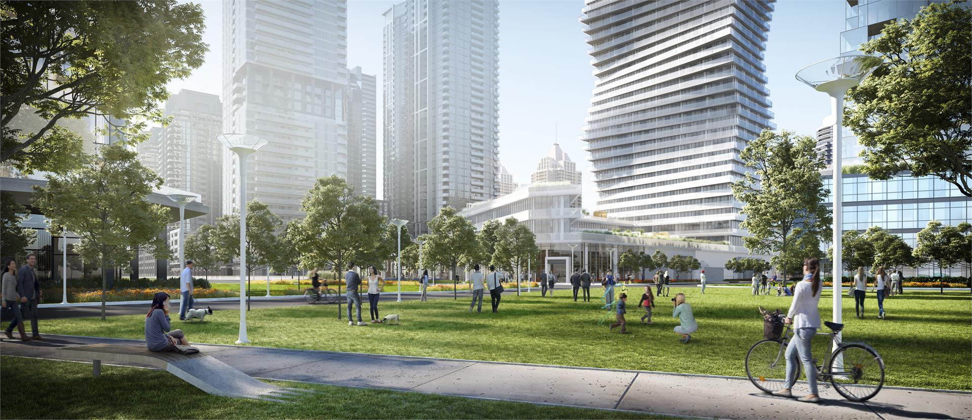 Exterior photo of M City Condos Phase 1
