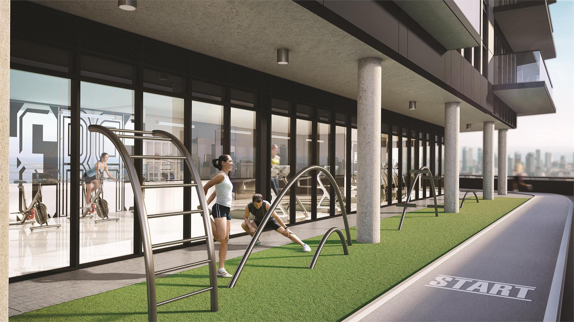 Interior photo of 159SW Condominiums