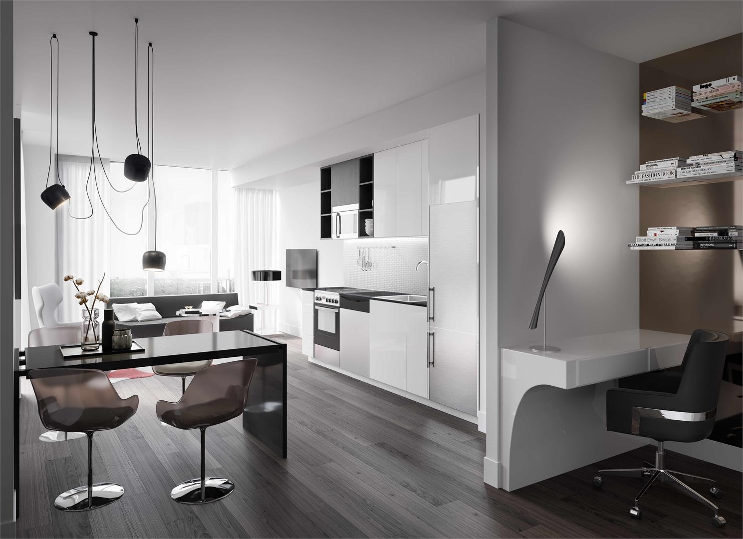 Interior photo of Avro Condominiums