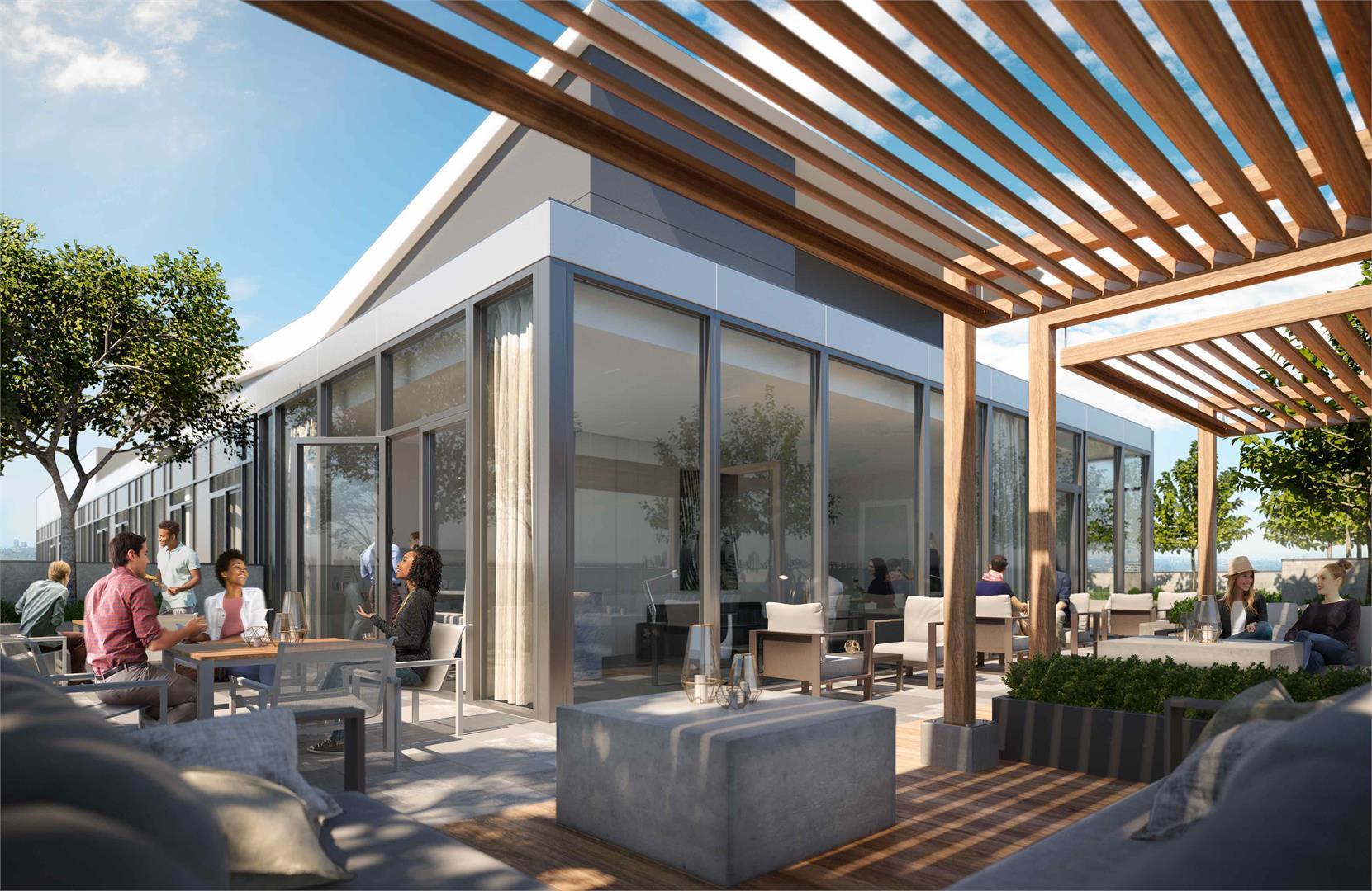 Exterior photo of Avro Condominiums