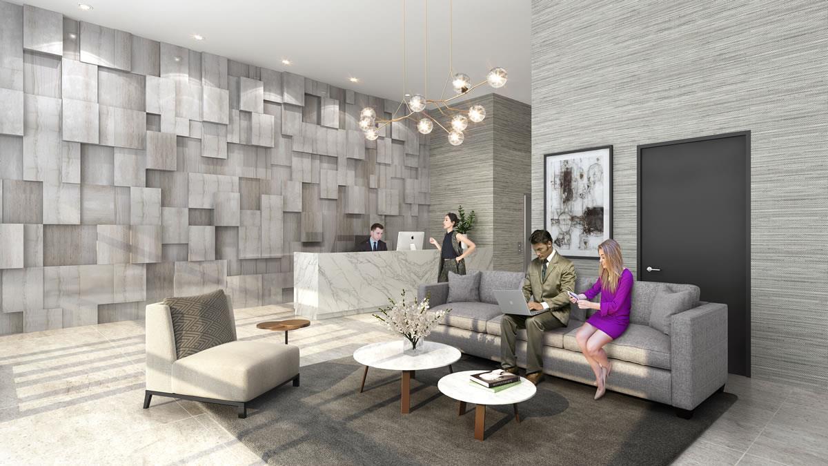 Interior photo of One Wellington Condos