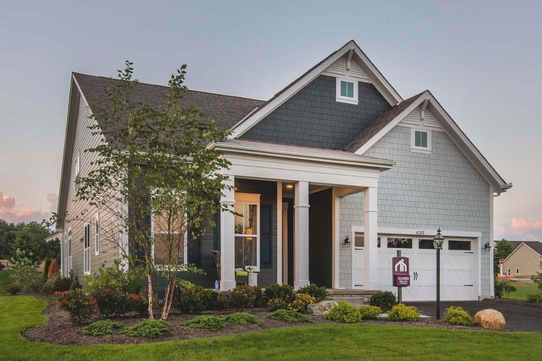 Sanctuary at the Lakes Luxury Patio Homes in Westerville, OH ... on