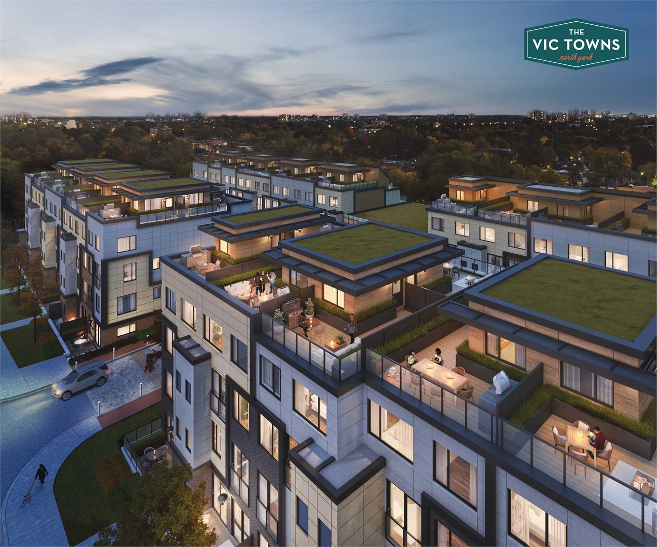 Exterior photo of The Vic Towns