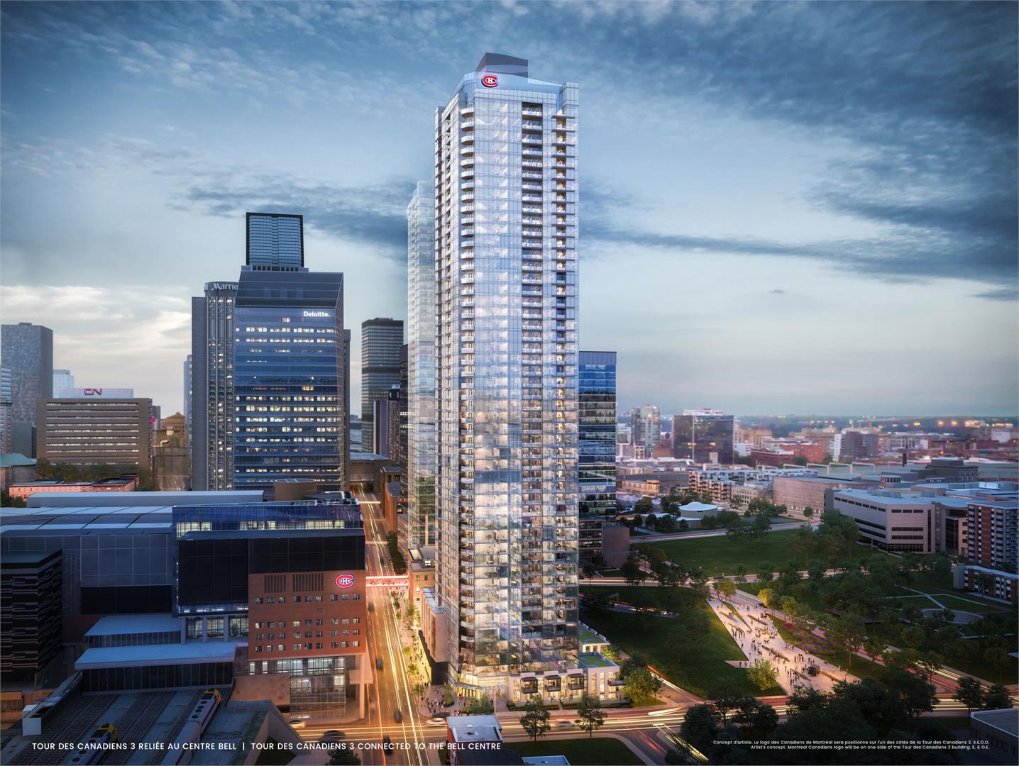 Tour des Canadiens 3 | 55 floors | 168M/551Ft - SkyscraperCity