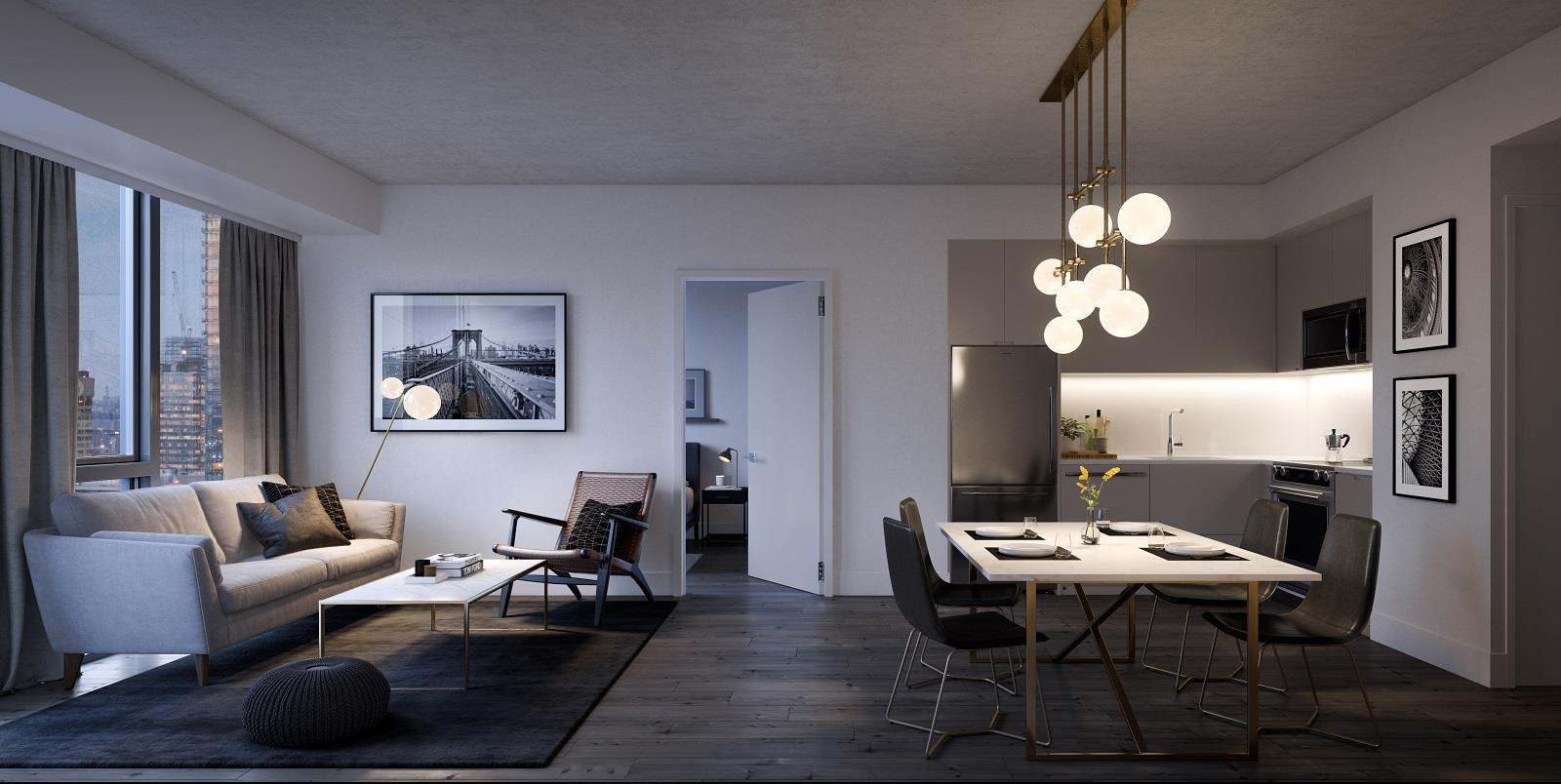 Interior photo of 357 King West