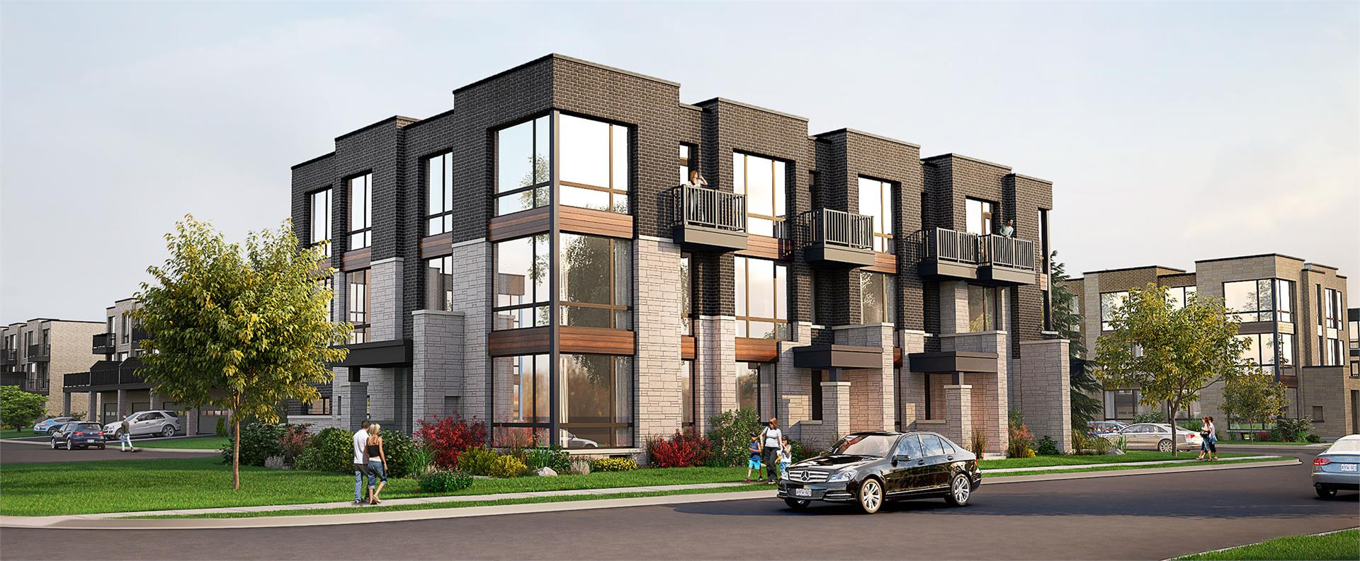 Exterior photo of Abbey Lane Towns Phase 3