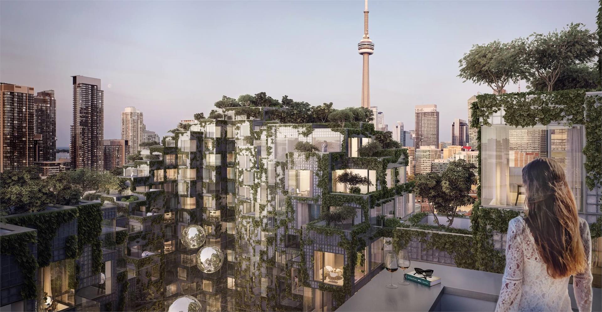 Exterior photo of King Toronto Condos