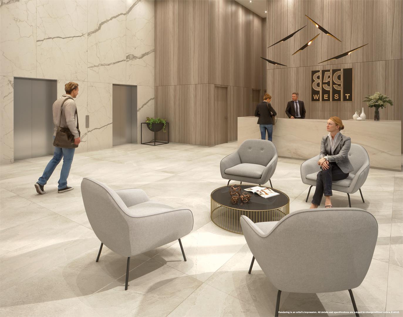 Interior photo of 859 West Condos