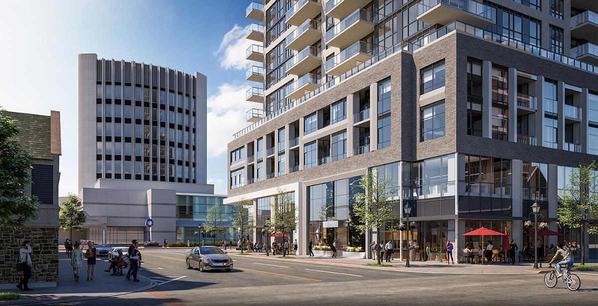 Exterior photo of Gallery Condos and Lofts